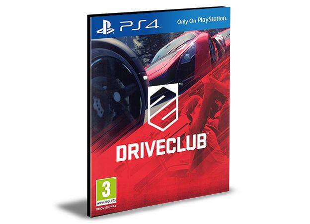 DRIVECLUB - PS4 PSN MÍDIA DIGITAL