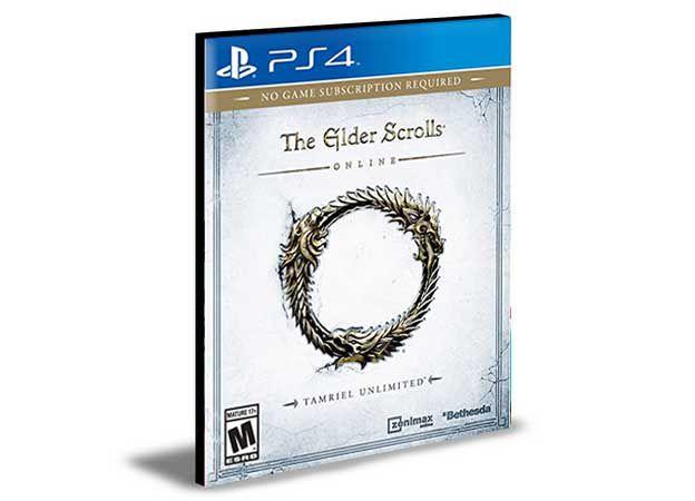 The Elder Scrolls Online- PS4 PSN MÍDIA DIGITAL