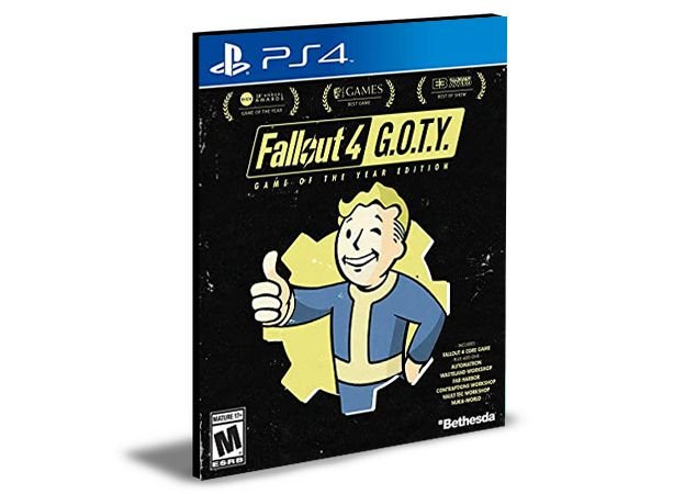 Fallout 4 Game of the Year Edition- PS4 PSN MÍDIA DIGITAL