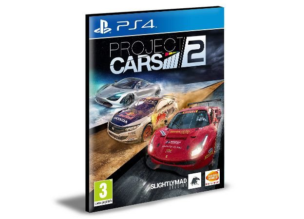 PROJECT CARS 2 - PS4 PSN MÍDIA DIGITAL