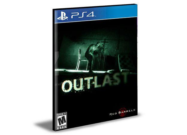 OUTLAST  PS4  PSN  MÍDIA DIGITAL