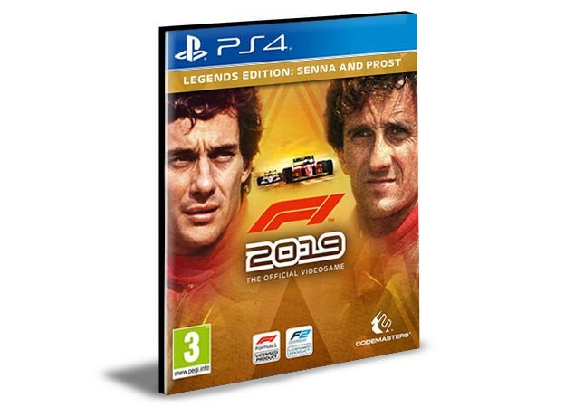 F1 2019 LEGENDS EDITION SENNA AND PROST PS4 - MÍDIA DIGITAL