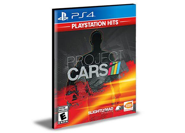 PROJECT CARS - PORTUGUÊS PS4 - PSN MÍDIA DIGITAL