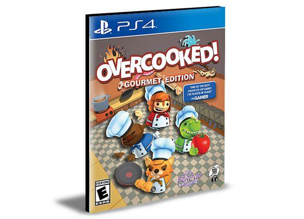 Overcooked Gourmet Edition- Ps4 Psn Mídia Digital
