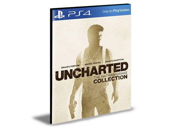 UNCHARTED THE NATHAN DRAKE COLLECTION - PS4 PSN MÍDIA DIGITAL