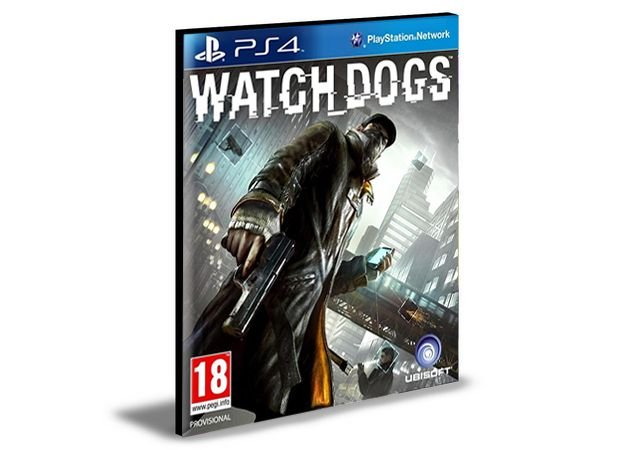 WATCH DOGS - PS4 PSN MÍDIA DIGITAL