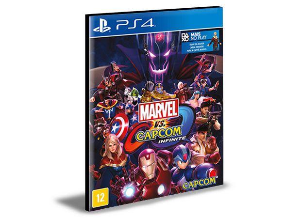 MARVEL VS CAPCOM INFINITE STANDARD EDITION - PS4 PSN MÍDIA DIGITAL