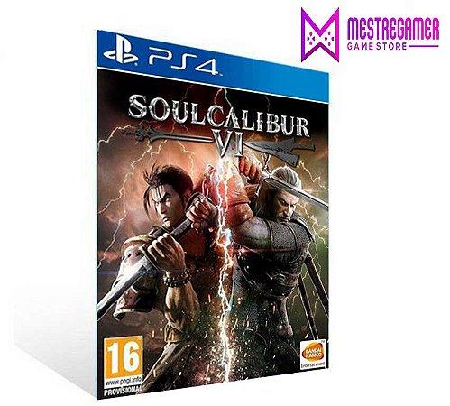 SOULCALIBUR VI PORTUGUÊS  PS4  PSN  MÍDIA DIGITAL