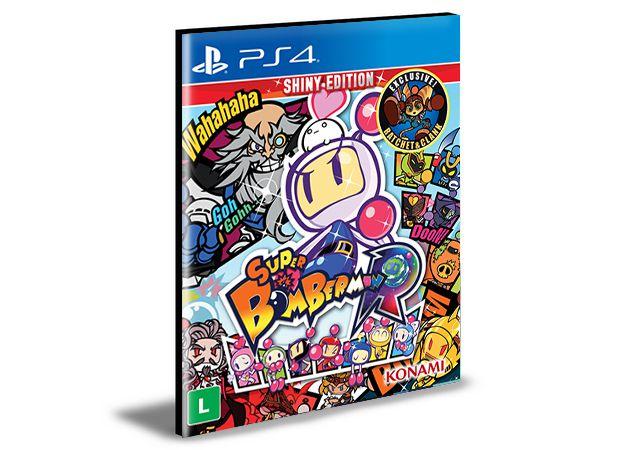 Super Bomberman R - Ps4 Psn Mídia Digital