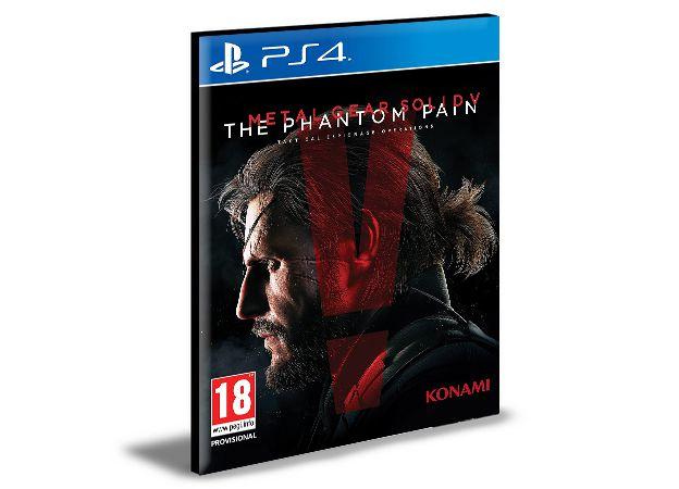 METAL GEAR SOLID 5 THE PHANTOM PAIN - PS4 PSN MÍDIA DIGITAL
