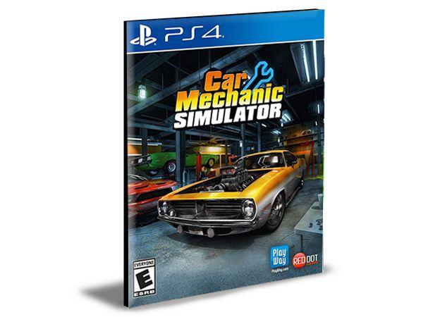 Car Mechanic Simulator - PS4 PSN Mídia Digital