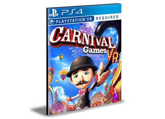 Carnival Games VR  - PS4 PSN Mídia Digital