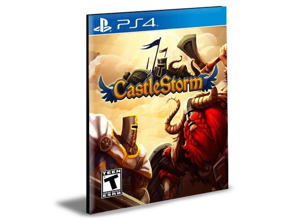 CastleStorm Definitive Edition  - PS4 PSN Mídia Digital