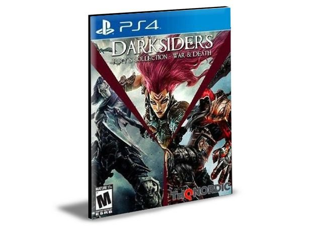 Darksiders Fury's Collection - War and Death  - PS4 PSN Mídia Digital