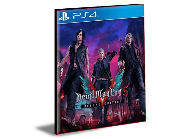 Devil May Cry 5 Deluxe Edition  - PS4 PSN MÍDIA DIGITAL