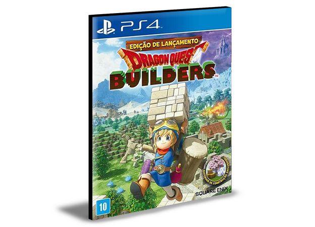 DRAGON QUEST BUILDERS - PS4 PSN MÍDIA DIGITAL