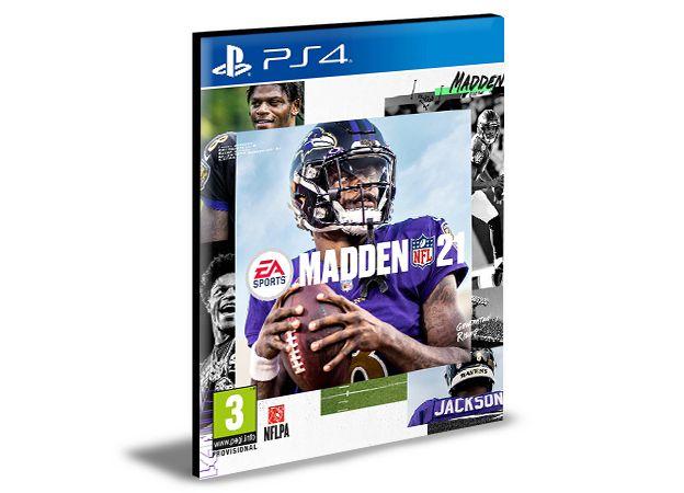 Madden NFL 21 - PS4 PSN MÍDIA DIGITAL