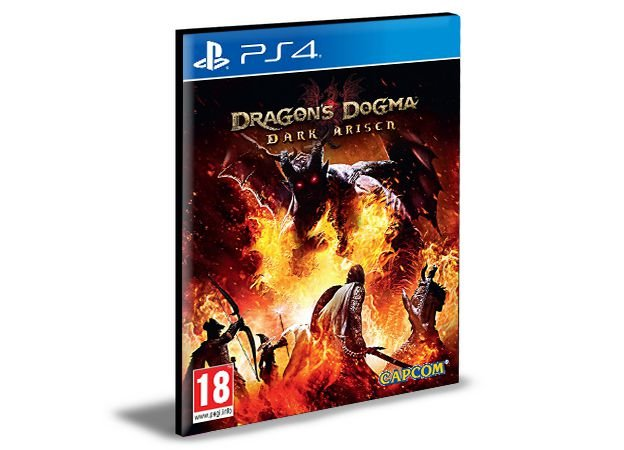 Dragon's Dogma Dark Arisen - PS4 PSN MÍDIA DIGITAL