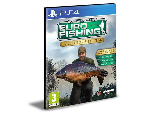 Euro Fishing - PS4 PSN MÍDIA DIGITAL
