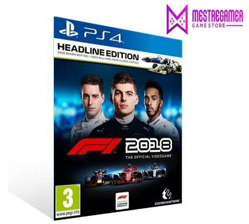 F1 2018 HEADLINE EDITION - PS4 PSN MÍDIA DIGITAL