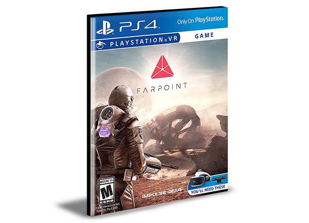Farpoint Playstation Vr - PS4 PSN MÍDIA DIGITAL