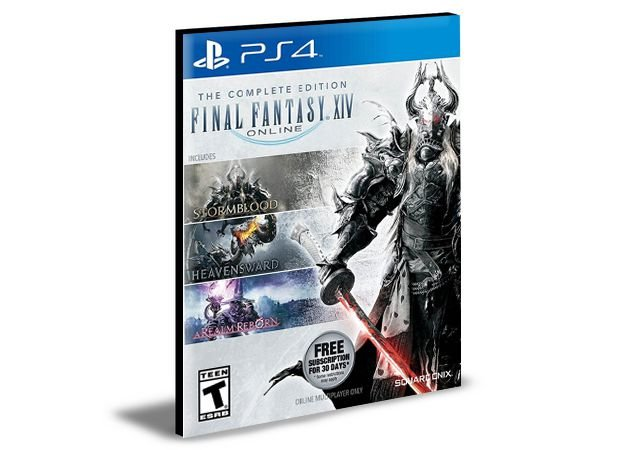 FINAL FANTASY XIV Online - Edição Completa  - PS4 PSN MÍDIA DIGITAL