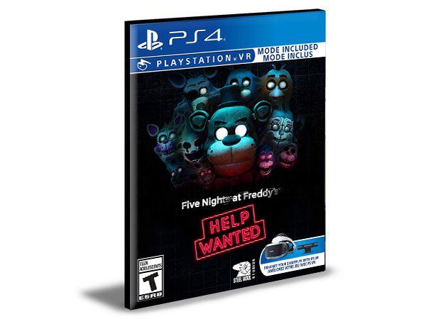 Five Nights at Freddy's VR Help Wanted  - PS4 PSN MÍDIA DIGITAL