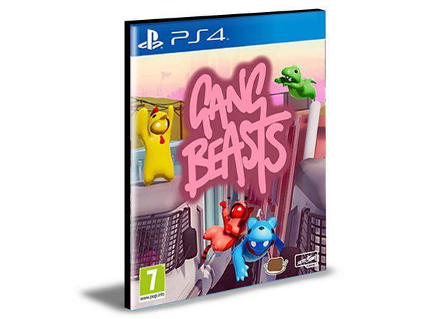 GANG BEASTS - PS4 PSN MÍDIA DIGITAL