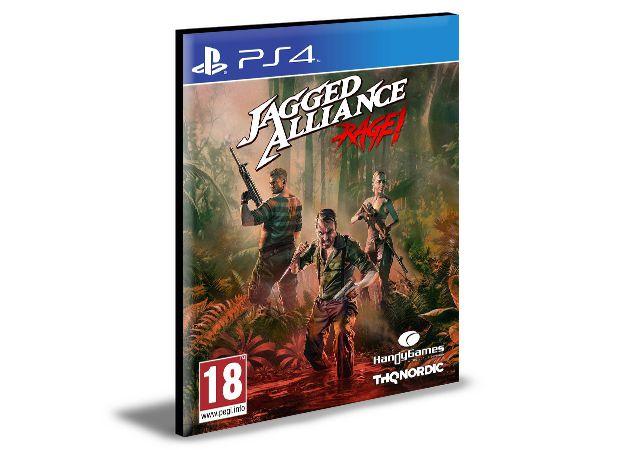 Jagged Alliance Rage! - PS4 PSN MÍDIA DIGITAL