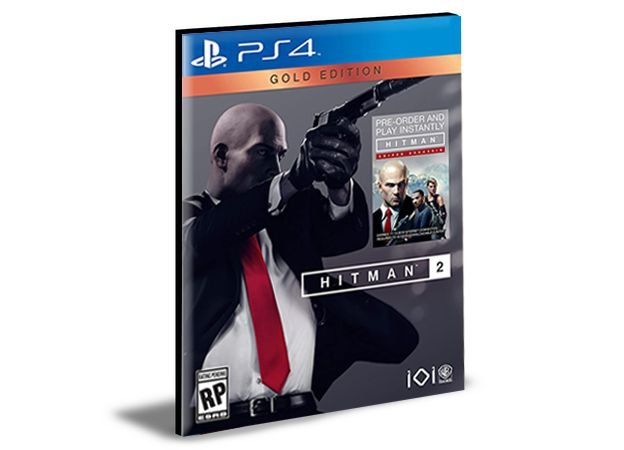 HITMAN 2  Edição Ouro - PS4 PSN MÍDIA DIGITAL