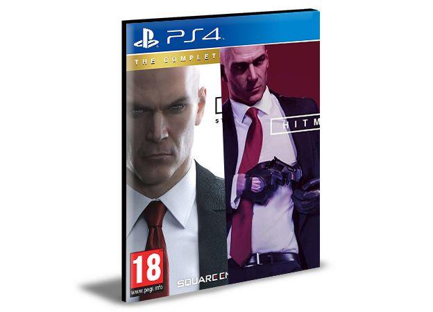 Hitman HD Enhanced Collection- PS4 PSN MÍDIA DIGITAL