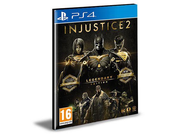 Injustice 2 - Legendary Edition Português - PS4 PSN MÍDIA DIGITAL