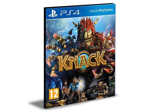 Knack - PS4 PSN MÍDIA DIGITAL