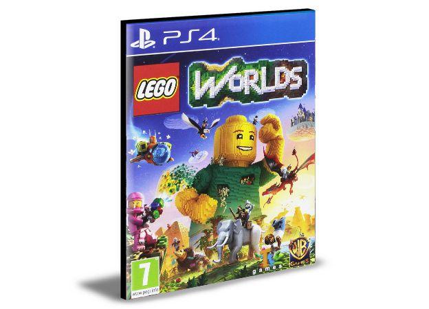 LEGO WORLDS - PS4 PSN MÍDIA DIGITAL