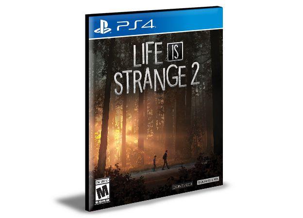 Life is Strange 2 - Temporada Completa - PS4 PSN MÍDIA DIGITAL