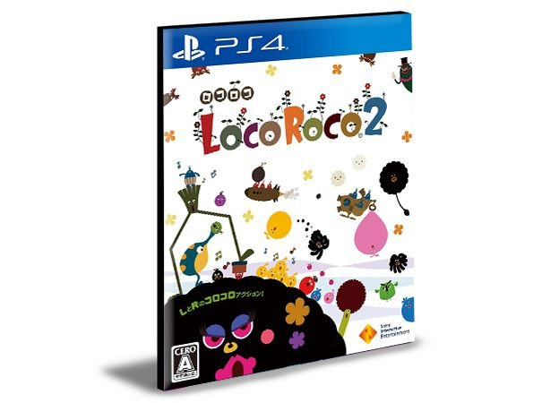 LocoRoco 2 Remastered  - PS4 PSN MÍDIA DIGITAL