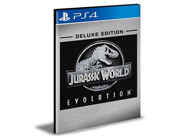 Jurussic World Evolution Deluxe Edition  -  PS4 PSN MÍDIA DIGITAL