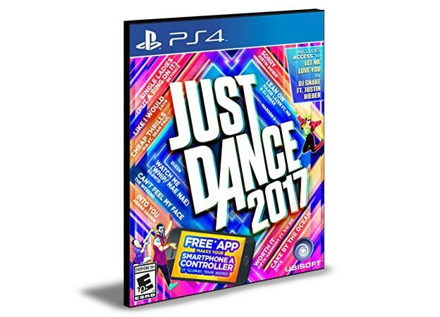 Just dance 2017  -  PS4 PSN MÍDIA DIGITAL
