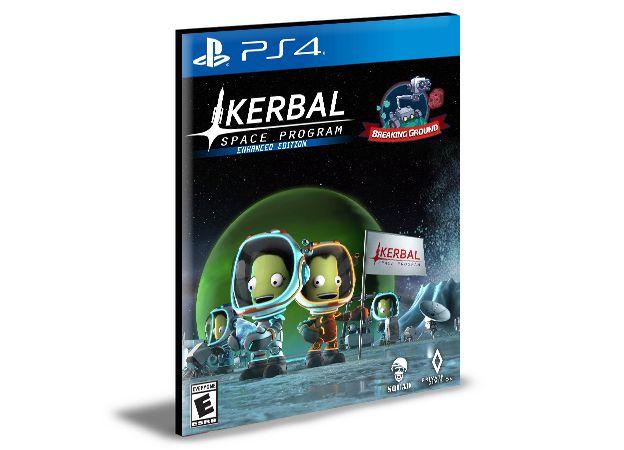 Kerbal Space Program Enhanced Edition  -  PS4 PSN MÍDIA DIGITAL