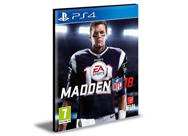 MADDEN NFL 18  -  PS4 PSN MÍDIA DIGITAL