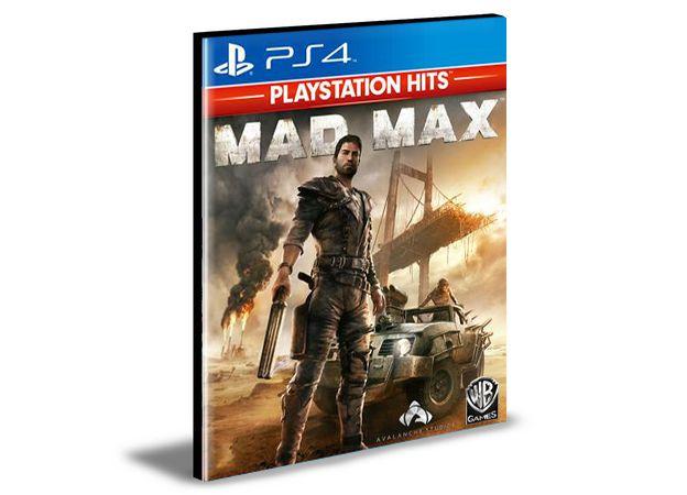 Mad Max  -  PS4 PSN MÍDIA DIGITAL