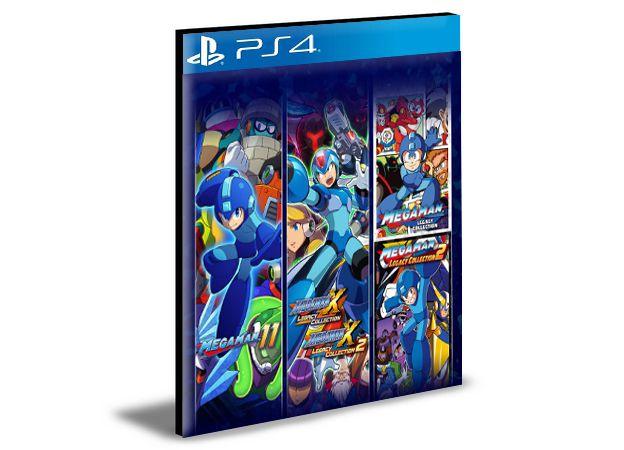 Mega Man 30th Anniversary Bundle  - PS4 PSN Mídia Digital