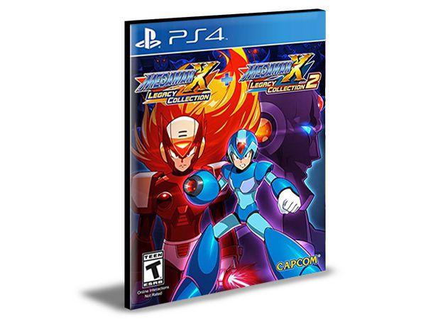 Mega Man X Legacy Collection 1 + 2- PS4 PSN Mídia Digital