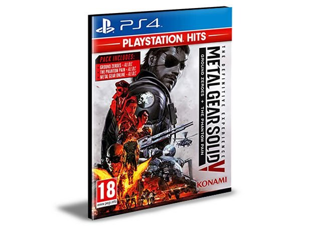 METAL GEAR SOLID V THE DEFINITIVE EXPERIENCE   - PS4 PSN Mídia Digital