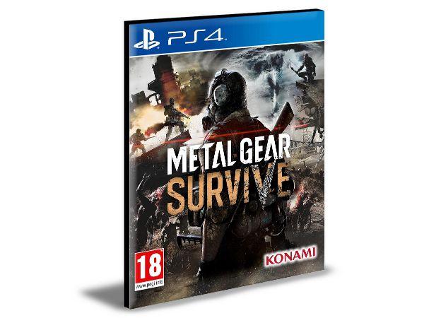 METAL GEAR SURVIVE  - PS4 PSN Mídia Digital