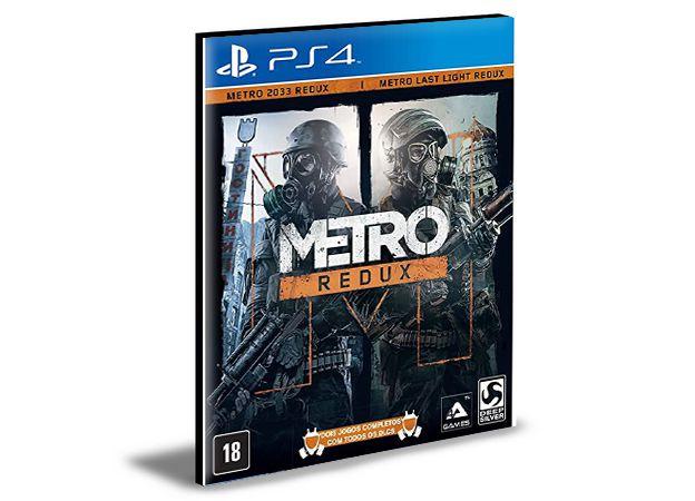 Metro Redux - PS4 PSN Mídia Digital