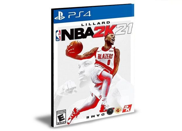 NBA 2K21 - PS4 PSN MÍDIA DIGITAL