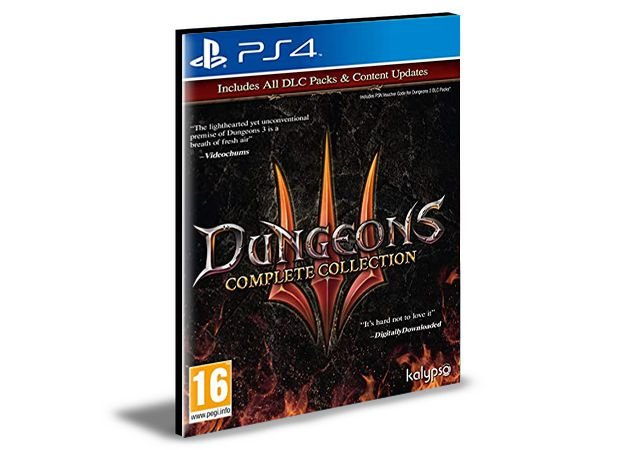 Dungeons 3 - Complete Collection - PS4 PSN MÍDIA DIGITAL