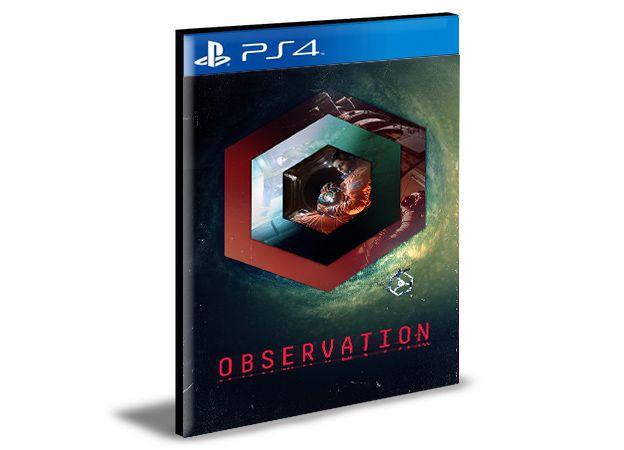 Observation -  PS4 PSN MÍDIA DIGITAL