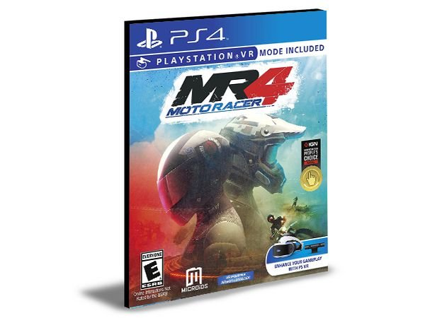 Moto Racer 4 - PS4 PSN MÍDIA DIGITAL